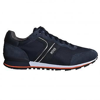 Hugo Boss Footwear Hugo Boss Men's Dark Blue Athleisure Parkour Runn Trainers