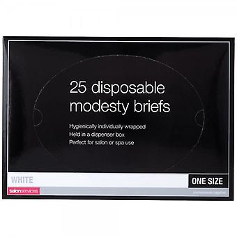 Salon Services Disposable Briefs - Pack Of 25