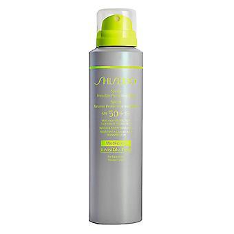 Shiseido Deportes Niebla protectora invisible SPF 50+