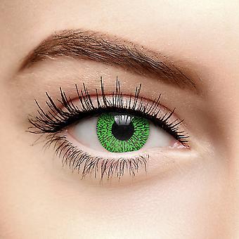 grønn one tone farget kontaktlinser (90 dag)
