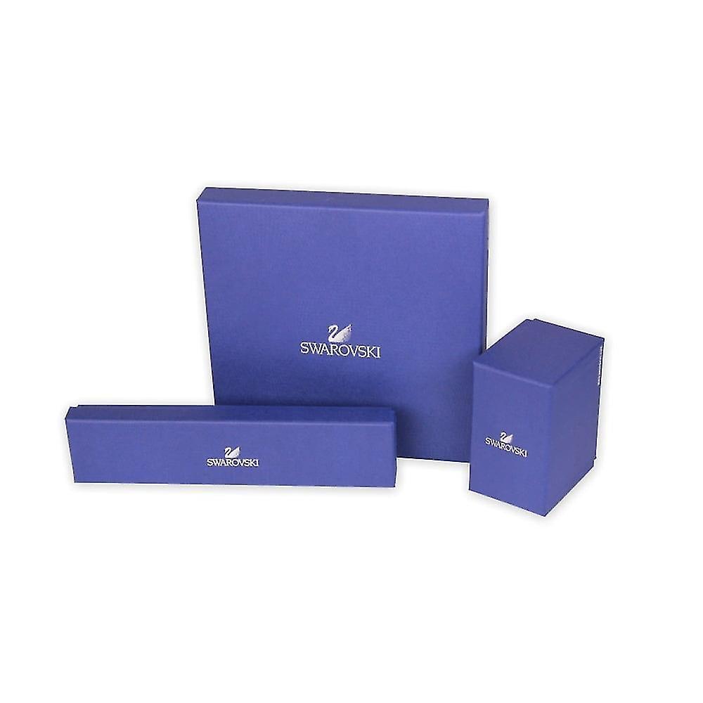 Swarovski Swan Rhodium Plated & Clear Crystal Necklace 5007735