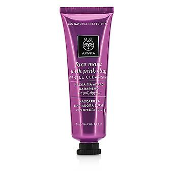 Face Mask with Pink Clay - Gentle Cleansing 50ml/2oz