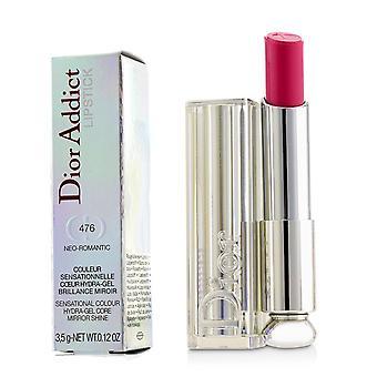 Dior Addict Hydra Gel Core Mirror Shine Läppstift - #476 Neo Romantisk 3.5g/0.12oz