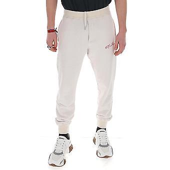 Alexander Mcqueen 599618qoz820900 Män's White Cotton Joggers