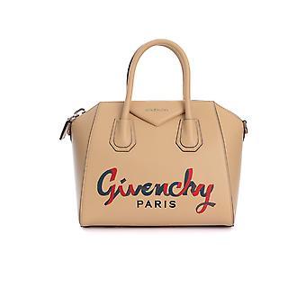 Givenchy Bb500cb0st280 Mujer's Bolso de cuero beige