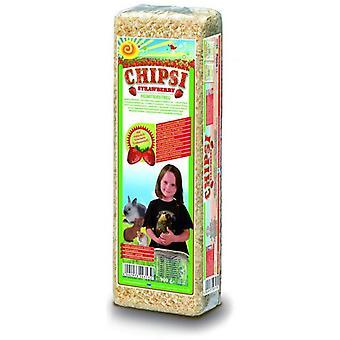 Chipsi Chipsi jordbær Classic (små kæledyr, sengetøj)