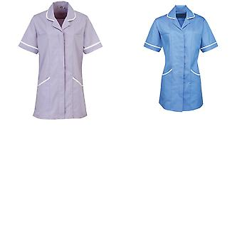 Premier Ladies/Womens Vitality Medical/Healthcare Work Tunic (Pack of 2)