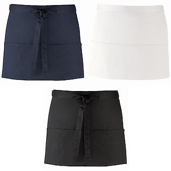 3 Premier Abra o bolso da cintura avental / Workwear (Pack de 2)