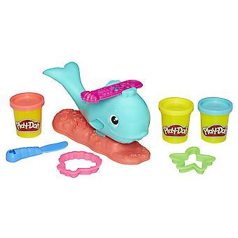 Play-Doh ondulat balena