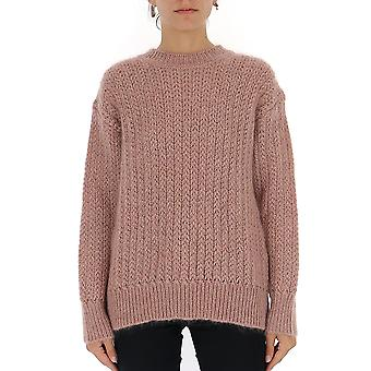 Alberta Ferretti 09265103a2186 Women's Pink Wool Sweater