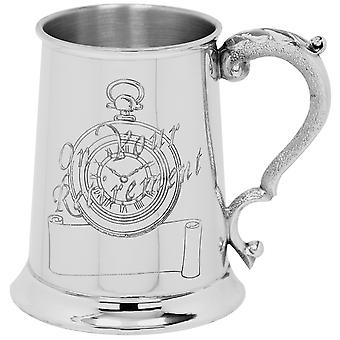 On Your Retirement Pewter Tankard - 1 Pint