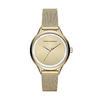 Armani Exchange Ladies Quartz analogue watch with stainless steel band AX5601