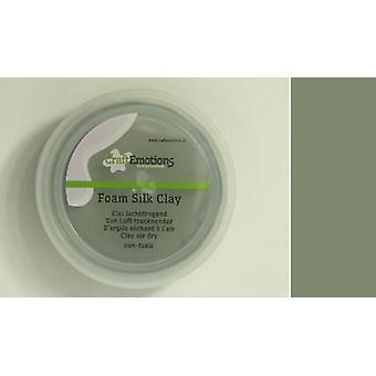 CraftEmotions Silk foam clay - grey 28gr Air dry