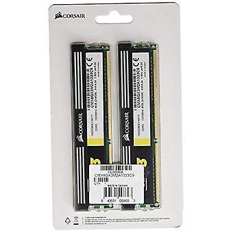 Corsair CMX8GX3M2A1333C9 XMS3 High Performance Desktop Memory 8 GB (2x4 GB), DDR3, 1333 MHz, 1.50V, CL9