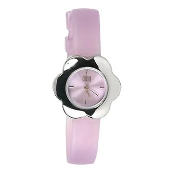Carvel Flower Lilac Dial Girls Fashion Watch B511.15CA