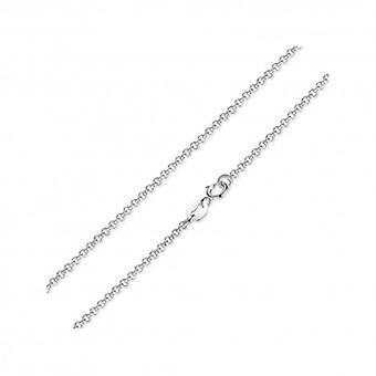 sterling sølv halskjede med hummer lås - 5380