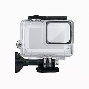 Shell imperméable à l'eau à GoPro Hero7 Argent/Hero7 Blanc