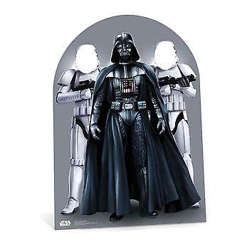 Star Wars Darth Vader and Stormtroopers Child Size Stand in Cardboard Cutout / Standee / Stand Up