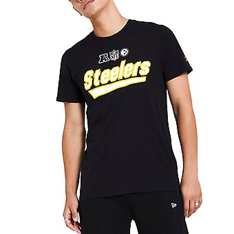 New Era WORDMARK Shirt - NFL Pittsburgh Steelers black