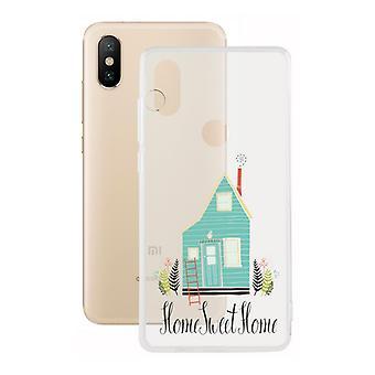 Capa móvel Xiaomi Mi A2 Contact Flex Home TPU