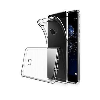 FONU Siliconen Backcase Hoesje Huawei P10 Lite - Transparant