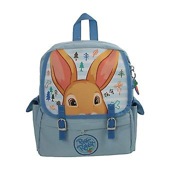 Children's Peter Rabbit Blue Satchel Backpack