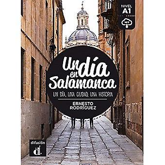 Un dia en...: Un dia en Salamanca (A1) - libro + MP3 descargable