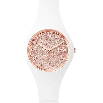 Ice Watch Watch Unisex ICE glitter Vit Rose-Gold Small 001343