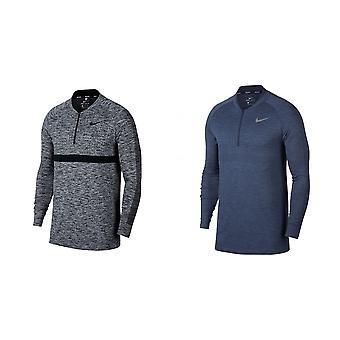 Nike Herren nahtlose stricken Zip Langarm Cover Top