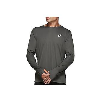Asics Sølv Langærmet Top 2011A010022 universelle hele året mænd t-shirt