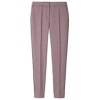 Sandwich Clothing Red Clay Check Trousers
