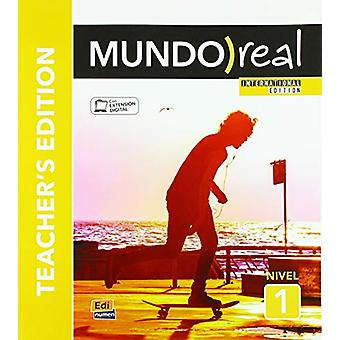 Mundo Real International Edition - Level 1  - Teachers Edition - In Engl