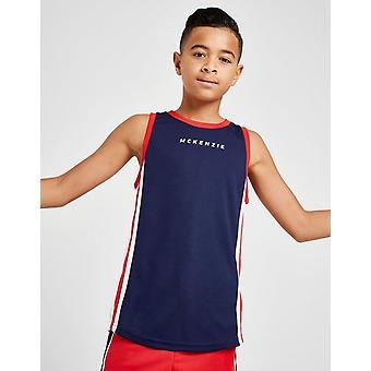 New McKenzie Boys' Danae Mesh Vest Top Navy