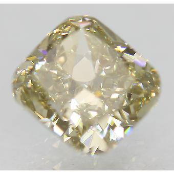 Certified 1.01 Carat L Color VVS1 Cushion Natural Loose Diamond 5.72x5.29mm 2EX
