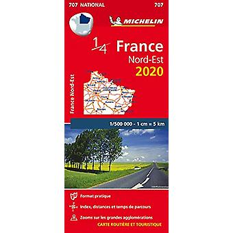 Northeastern France - Michelin National Map 707 - Map - 9782067242692