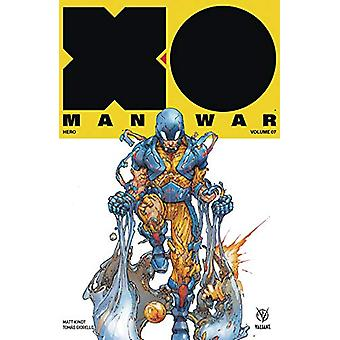X-O Manowar (2017) Volume 7 - Hero by Matt Kindt - 9781682153185 Book