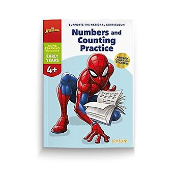 Spiderman Numbers  Counting Practice 4