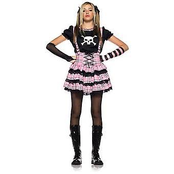 Skalle Princess tonåring kostym