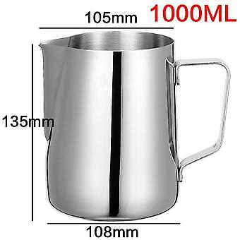 Stainless Steel Milk Frothing Jug Pitcher for Espresso Coffee  Barista Craft Coffee