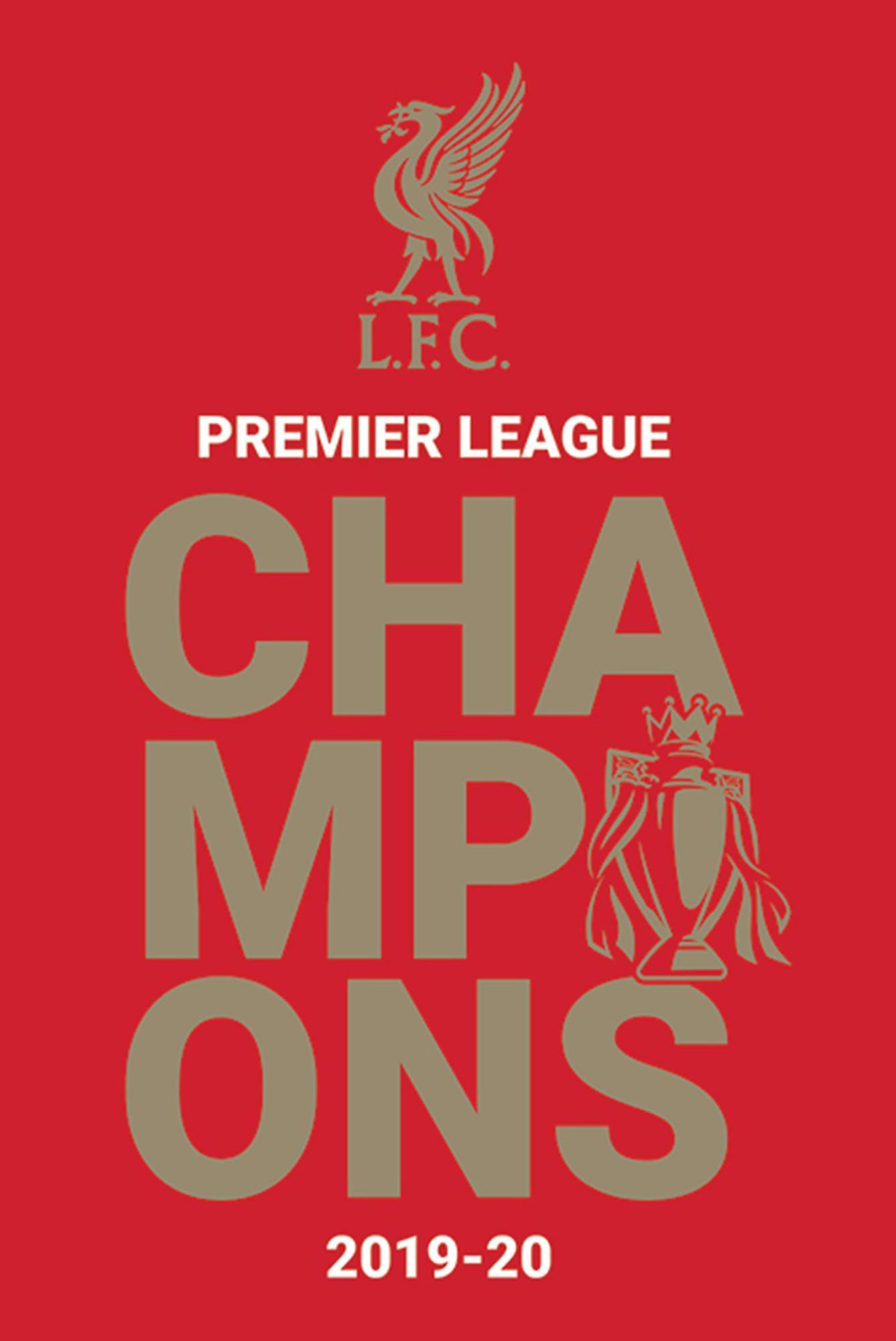 Liverpool FC Poster Logo P. L. Champions 2019/2020 | Fruugo US