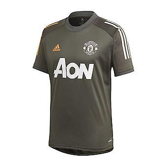 2020-2021 Man Utd Adidas Training Shirt (Green)