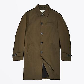 Oliver Spencer  - Grandpa Cotton Coat - Green