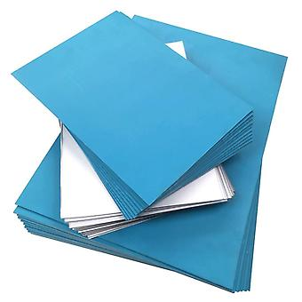 Amazon Polymer Sheets for Lino Printing - Blue or Clear