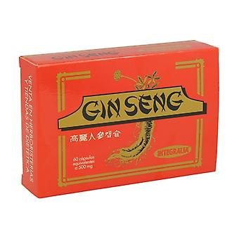 Korean Ginseng 60 capsules of 500mg
