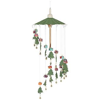 Something Different Christmas Tree SAA Paper Mobile