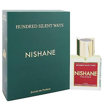 Honderd stille manieren extrait de parfum spray (unisex) door nishane 551801 100 ml
