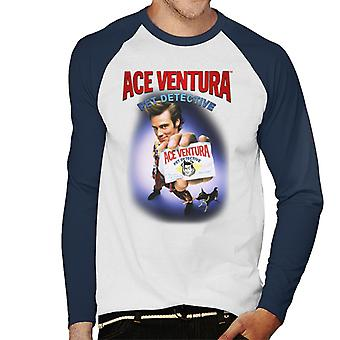 Ace Ventura Pet Detective ID Card Men's Baseball Long Sleeved T-Shirt