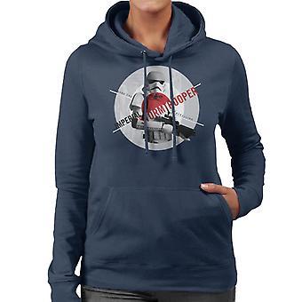 Star Wars Imperial Stormtrooper Crush The Rebellion Women's Hooded Sweatshirt