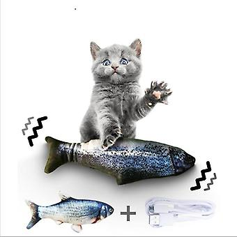 Electronic Usb Charging Simulation - Chewing Playing Fish Toys For Pets