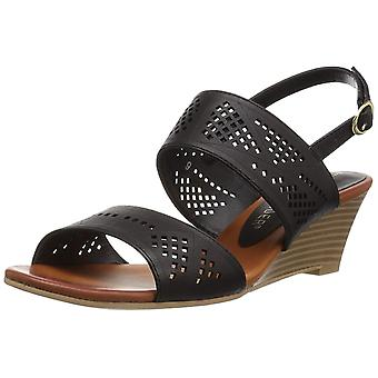 Athena Alexander Womens Sparce Open Toe Casual Slingback Sandals